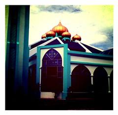 Solat Jumaat di masjid Al-Malik Khalid, USM