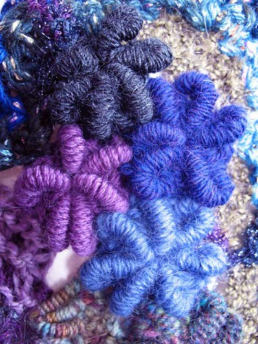 crochet bullion stitches