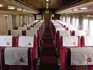 Private Rail Car - coach interior
