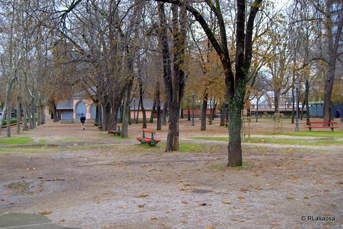 Jardines del Bosquecillo, en la Avenida de las Navas de Tolosa