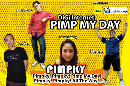 DIGI Internet Pimp My Day Challenge - Team Pimpky