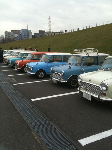 mini's New Year Meeting in Nissan Stadium[January.11.2010]