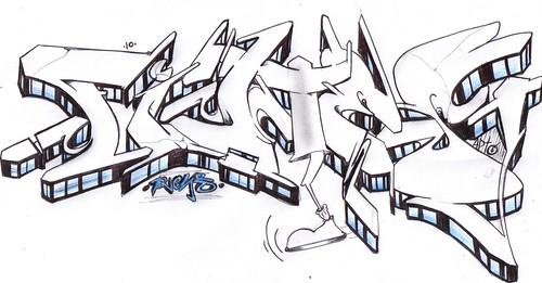 Graffitis de nombre Lupita - Imagui