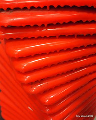 Do the Twist (tonyadcockphotos) Tags: orange spiral hardware random cone twist lowes homeimprovement safetycone orangecone roadcone bigbox highwaycone