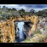 Tasmans Arch, Eagleneck Hawk, Tasmania :: HDR