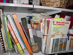 kitchen shelf...