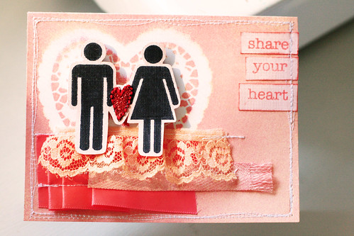 Christy Sheffield - Share Your Heart Card