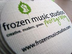 Frozen Music Studios Hang Tags