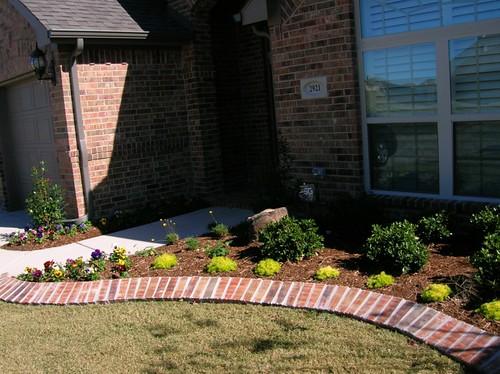 Frontyard landscape plans