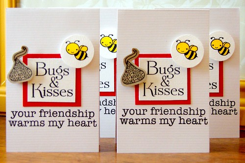 Bugs & Kisses Valentine Cards