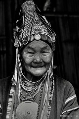 Akha Woman (ulli_p) Tags: travel friends people blackandwhite bw woman art blackbackground portraits thailand friend asia southeastasia faces best hilltribes akha thaipeople travelphotography flickraward blackwhiteaward concordians theperfectphotographer bwartaward earthasia thebestshot spiritofphotography bestflickrphotography artofimages