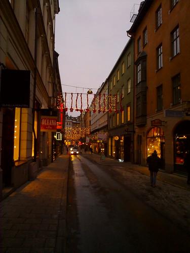 Walking around Stockholm