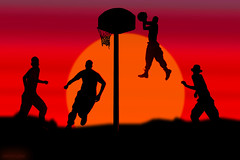 U.S. Marines CAN Jump (rcvernors) Tags: playing game net sports silhouette basketball usmc photoshop canon jump air digitalart rr computerart marines troops aw allrightsreserved veterans intheair devildog photoshopart usmarines semperfidelis marinecorp leatherneck rcvernors thecorp rickchildersdigitalmedia copyright2010