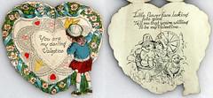 Vintage Valentine (Alexander Marten Zhang) Tags: vintage valentine card foundobject