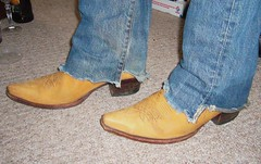 P1000926 (PadlockBear) Tags: leather cowboy toe boots mens pointed rsoles