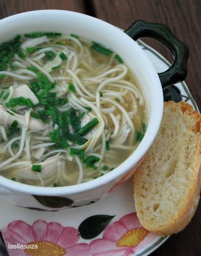 hemc #40 - sopa de pollo con pasta china