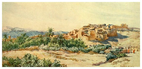 008-En el borde del desierto-Algeria and Tunis (1906)-Frances E. Nesbitt