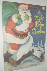 THE NIGHT BEFORE CHRISTMAS WHITMAN PUB. 1949 (ussiwojima) Tags: santa christmas whitman 1949 nightbeforechristmas