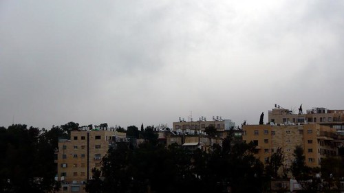 Rainy Day in Jerusalem