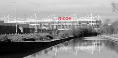The Ricoh (wetbicycleclappersoup) Tags: coventry ricoh ccfc