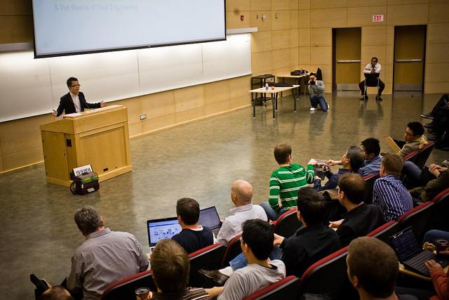 Albert Lai at Democamp 25