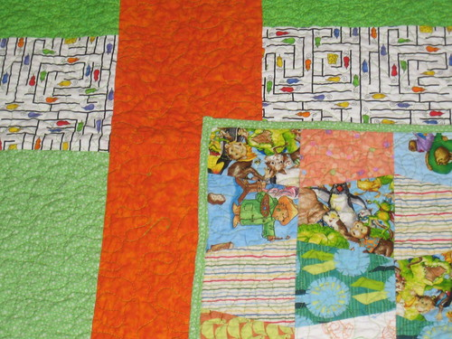 sweet kid quilt back/front