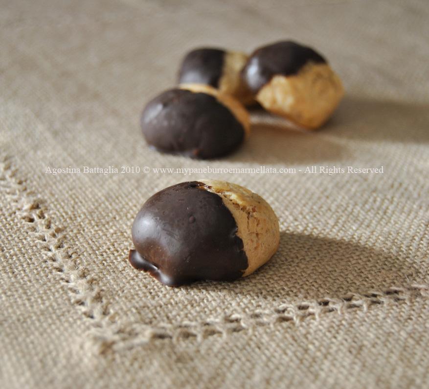 pepite nocciole e mandorle al cioccolato