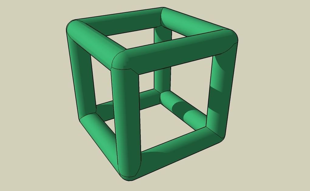 tube cylinder cube