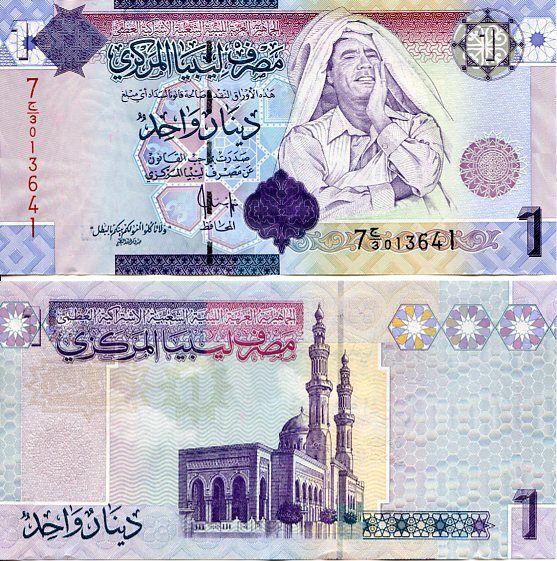 1 Dinár Líbya 2009