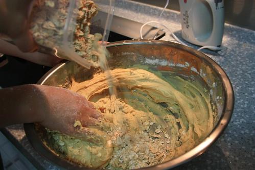 蜂蜜燕麥餅乾