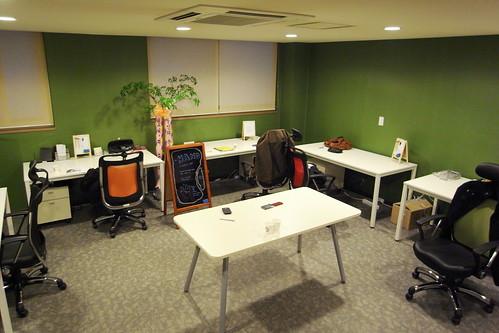 핸즈의 첫 사무실