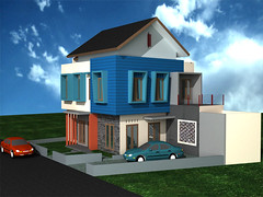 Rumah Sudut Minimalis, Dukuh Zamrud Permata legenda by Indograha Arsitama Desain & Build