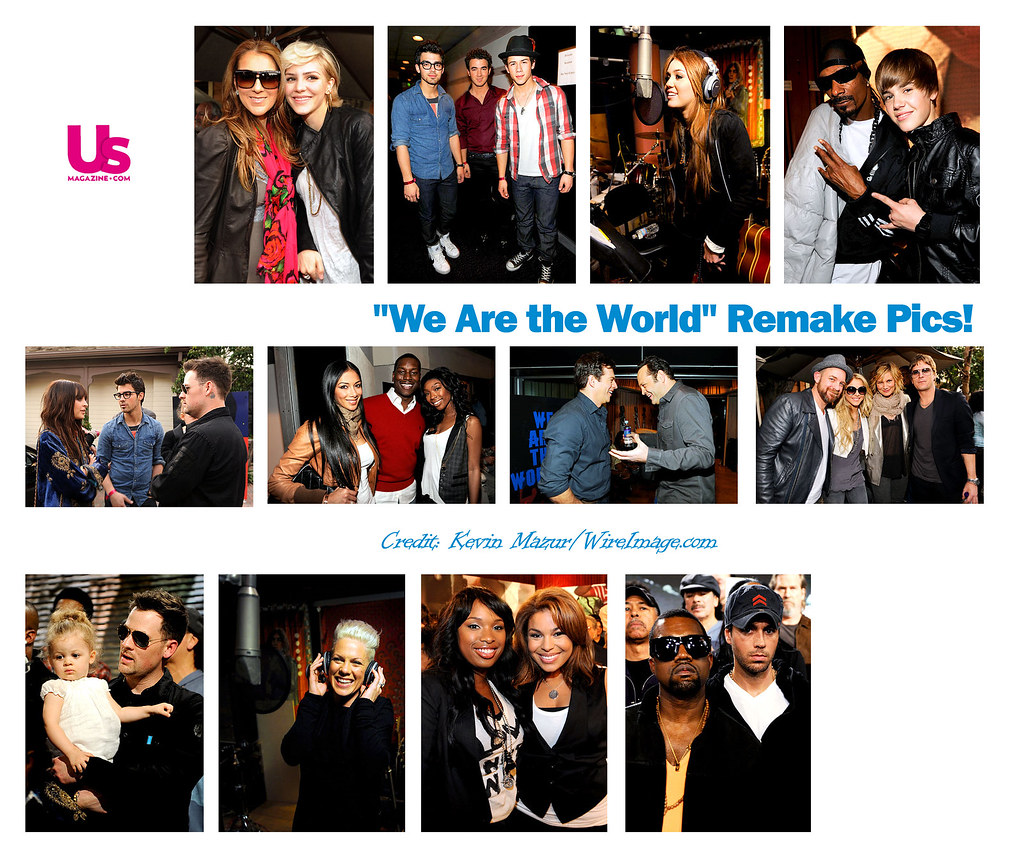 We Are the World Remake Pics 7