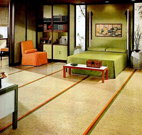 Bedroom  1964. Mid Century Living  Bedrooms  1960 65