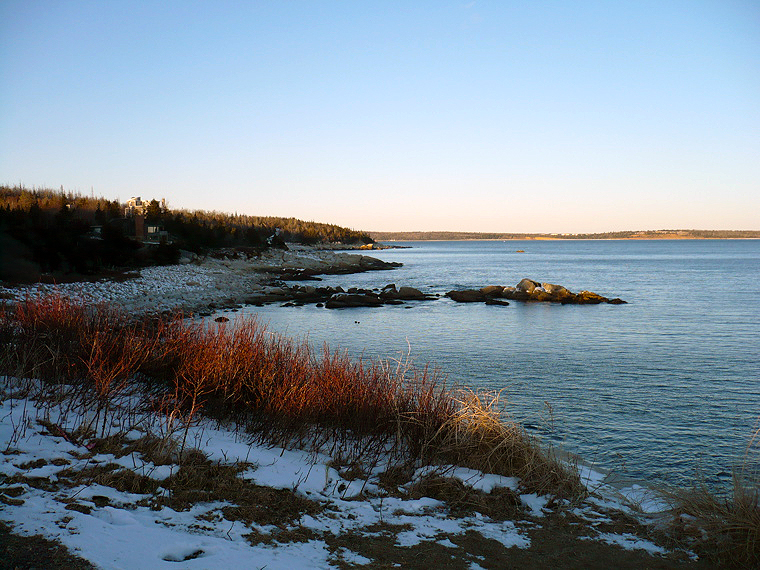 Herring Cove - view to McNabs