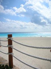 Cancun,  Arena y Mar