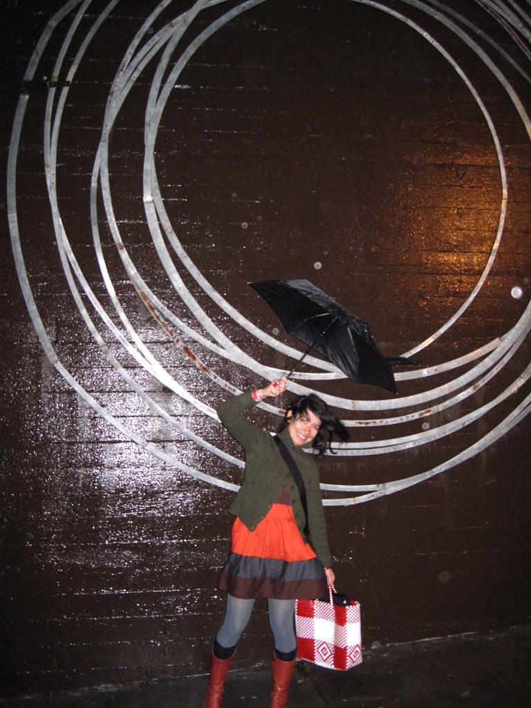 Circle of rain.