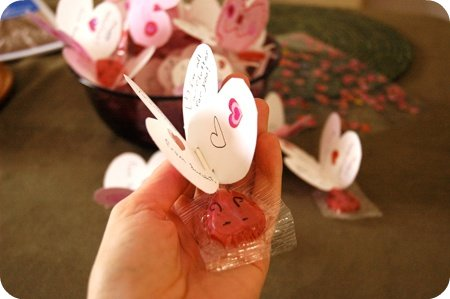 Valentine's Day butterfly cards