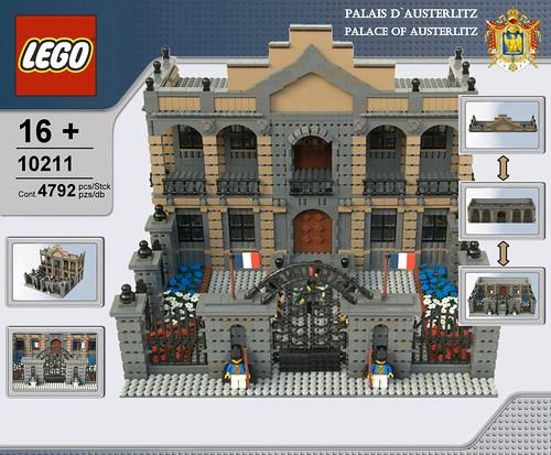 Palace of Austerlitz/ Palais d`Austerlitz by Kris Kelvin