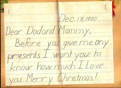 Christmas Card - 1980