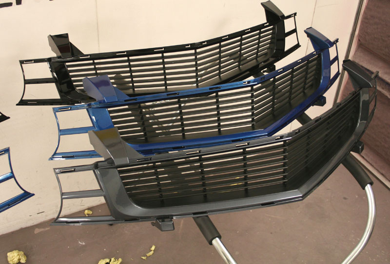 Pre-painted Heritage grille Shipping sale!! - ModernCamaro ...