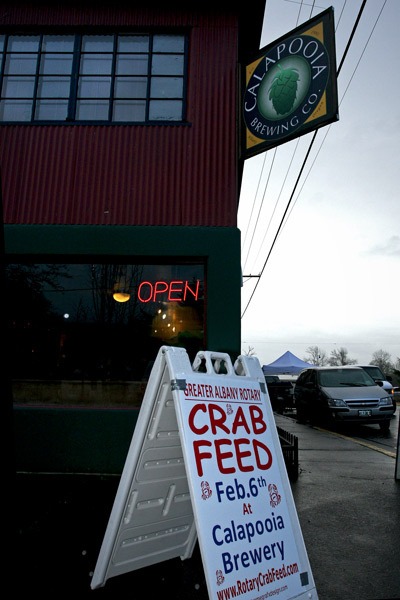 Crab Feed at Calapooia Brewing in Albany, Oregon