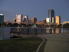 morning run at Lake Eola