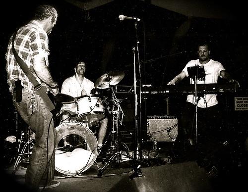 mike watt + the secondmen - Mike, Pete, Jerry
