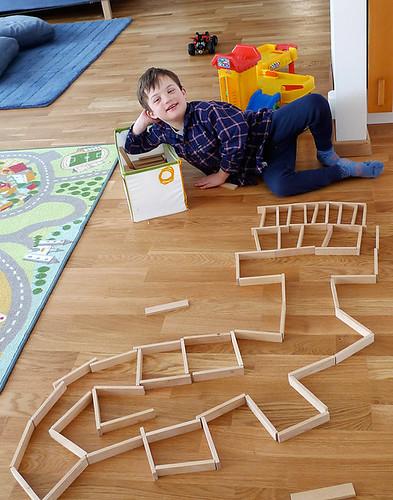Nöjd! Helt egenhändigt bygge!