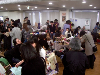 Let'sいっちょカマーキャンペーン 中崎町フリーマーケット