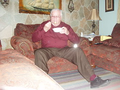 Poppa 007 (staggerlee1) Tags: 2005 people sitting grandfather grandpa sit granddad granddaddy seated poppa
