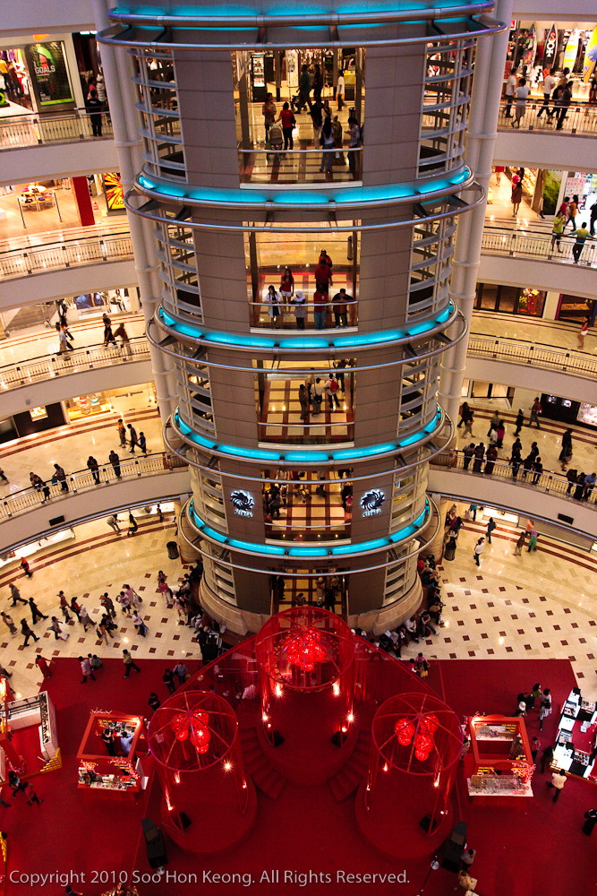 Chinese New Year Decoration @ KLCC, KL, Malaysia