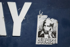 Dubwise (streetviability) Tags: street portrait streetart paris art photo sticker y dub autocollant dubwise viability viability00 streetviability