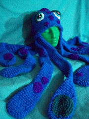 101_1056 (CrazyHatSociety) Tags: winter scarf shopping knitting crochet caps hats octopus etsy fiberart custom beanies earflaps loomknitting crazyhatsociety